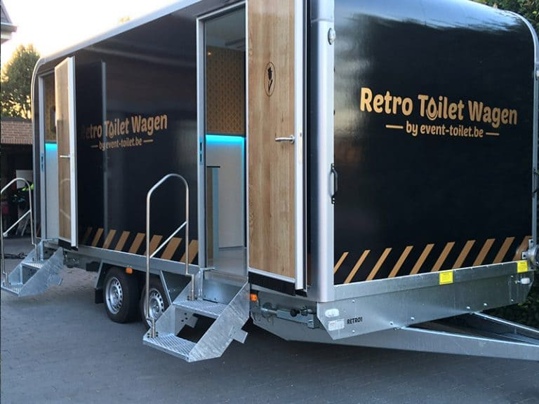 Retro-toiletwagen